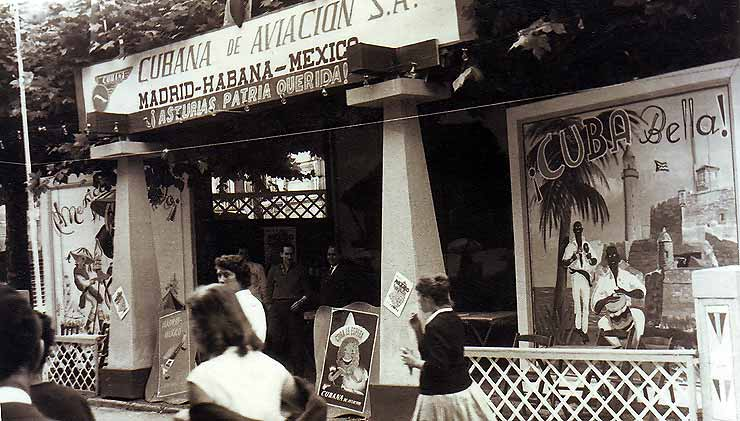 Stand Cuba Mexico, 1955
