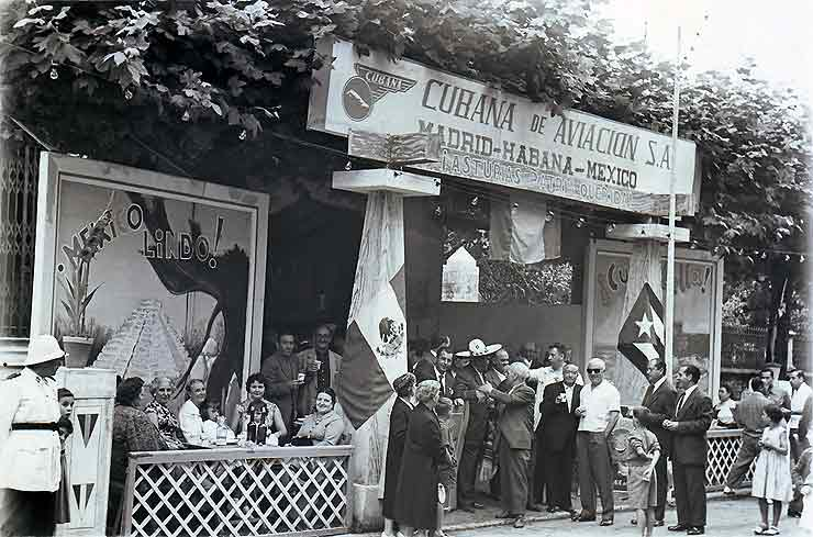 Stand Cuba Mexico, 1954
